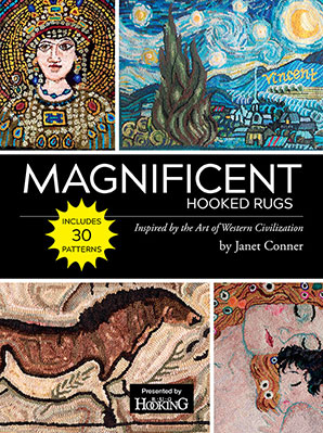 Magnificent Hooked Rugs by Janet Conner