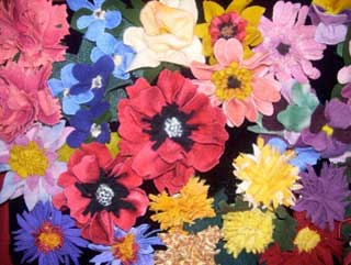 Proddy Flowers - made of hand-dyed high quality wool